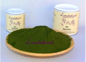 Lunderland Bio-Spirulina 250g nur Ladenverkauf